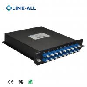 Quality Dual Fiber Bi-Direction 16 Services 16 Wavelength CWDM MUX/DEMUX for sale