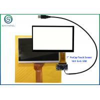 Quality G + G Structure 7 Inch Capacitive Touch Screen With USB Interface For Innolux AT070TN92 for sale