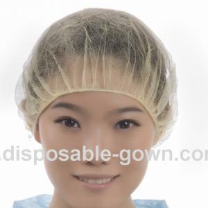 Quality Single Elastic Nonwoven Polypropylene Disposable Head Cover for sale