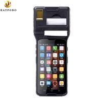 Quality 5'' Raypodo Personal Digital Assistant Android 5.1 2D Barcode Scanner PDA With Thermal Printer for sale