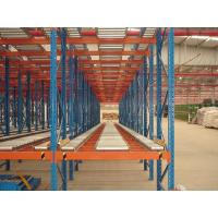 Quality perishable goods gravity flow racks , double - deep pallet racking systems for sale