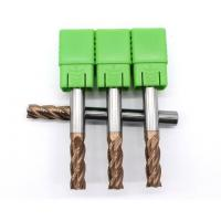 Buy cheap 2 FlutesTungsten Carbide Long Reach End Mills For Metal Cutting HRC55 from wholesalers