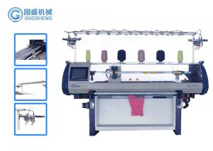 Quality 14G Sweater Collar Knitting Machine Fully Jacquard Sweater Manufacturing Machine for sale