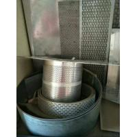 Quality 0.5mm thickness with 0.5mm hole galvanized Perforated Metal Mesh Coil for sale