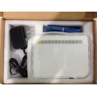 Buy cheap 4*GE Gpon Onu 2* Pots Port 4*Fixed 10 / 100 / 1000M BASE - TX Port WiFi 1 USB from wholesalers