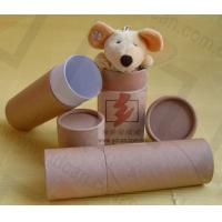 Quality Luxury Kraft Paper Cans Packaging Wine Bottle Presentation Box for sale