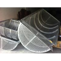China Al6xn (UNS N08367,AL-6XN)screen filters sieve baskets filter drums filter screen on sale