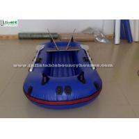 China Pool Rigid Inflatable Boats , Handing Painting Inflatable Pontoon Boats on sale