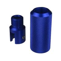 Quality DB TAC Sound Forwarder 3/4×16 Thread Combo With Muzzle Brake Ruger 1022 Adapter Blue Color for sale