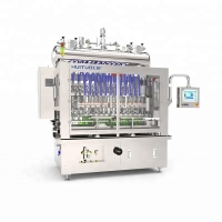 Quality Automatic pump filling and capping machine for bath foam and shampoo for sale