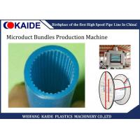 Quality Europe Standard Micro Duct Pipe Making Pe Pipe Extrusion Line Knet Microduct Solution for sale