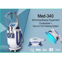 Quality Professional Cellulite Reduction Cryolipolysis Vacuum Machine Continuous Contact Cooling for sale