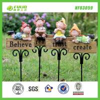 Quality Gnome Resin Garden Stake for sale