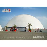 Quality UV Resistant 60m Geodesic Dome Tent With AC For 2500 People Capacity for sale