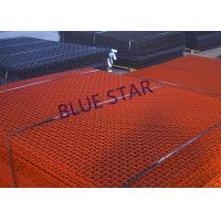 China Crimped Carbon Steel Wire Mesh High Tensile 65Mn Square Hole Rust Prevention on sale