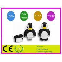 Quality 8g 16g 32g Capacity penguin pattern Cartoon USB Flash Drive AT-068 for sale