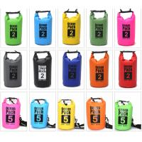 Quality Best Waterproof Sports Bag , 10l Dry Bag With PVC Material For Clothes for sale
