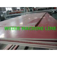 Quality Conical Twin Screw Extruder WPC PVC Board production line For Furniture application for sale
