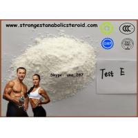 Quality 99% Raw Steroid Powder Hormone Testosterone Enanthate Test Enanthate For Muscle Building for sale