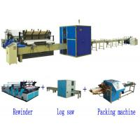 Quality Full Automatic High Speed Small Toilet Paper Roll Production Line for sale