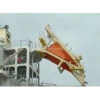 Quality 25Persons Free Fall Lifeboat With life boat davit for sale