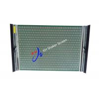 Quality Screen Mesh FLC 500 Sieve Screen For Slurry Separation , Metal Shaker Screen Mesh for sale