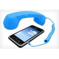 Quality Plastic Noise reduction cell phone retro handset for Samsung phone with Volume control for sale