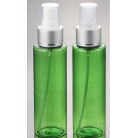 Quality Hot Sale cosmetic plastic PET Clear silver pump lotion  bottle 100ml with  with fine mist spray for sale
