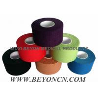 Quality Cotton Adhesive Rigid Black Sports Tape Athletic Trainer's Tape For Joint Protection for sale