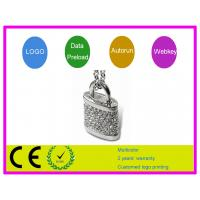 Quality Personised  1G 2G 4G 16G Crystal lock shape Jewelry USB  Flash Drive AT-302B for sale