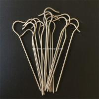 Quality 10pcs Gr5 Titanium tent Peg nail stake hook spike skewer Camping hiking outdoor 3mm*150mm for sale