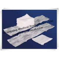 Quality 100% Cotton Filled Exodontia Woven Gauze Sponges For Surgery / Tooth Extraction for sale