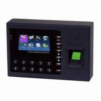 Quality Multimedia Fingerprint/Biometric Time Attendance/Recorder with for sale