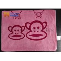 Quality Embossed Soft Microfiber Cleaning Towels , Antibacterial Microfiber Cloth For Electronics for sale