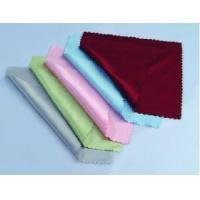 China Microfiber Glasses Cleaning Cloth (color) on sale