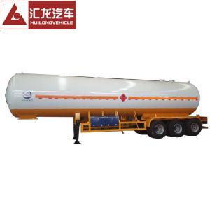 China 3 Axle 49.8 CBM Liquid Petroleum Gas Tank Trailer LPG Gas Tank on sale