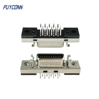 Quality 180 Degree PCB Straight Mount SCSI 20P Female Servo Connector for sale