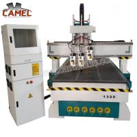 Quality CA-1325 3 heads milling machine cnc with 1300*2500mm/cnc pneumatic head machine 3 spindles cnc machine for sale