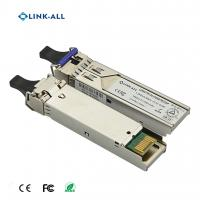 Quality 1.25G 1490NM/1550NM(1550NM/1490NM) Wavelength BIDI 80KM Transceiver With SC Connector for sale