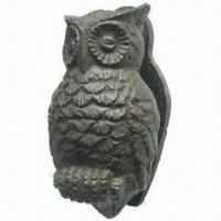 China Handmade Door Knocker, Made of Cast Iron, OEM Designs are Welcome on sale