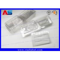 Quality PVC Clear Ampoule Blister Packaging Tray For Medication 2ml Vials  Engrave Embossing for sale