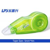 Buy OEM / ODM Plastic Mini Green Colored Correction Tape 5mm X 4m No W955 at wholesale prices