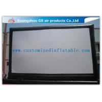 Quality Giant Outdoor Inflatable Movie Screen Rental , Portable Inflatable Projection Screen for sale