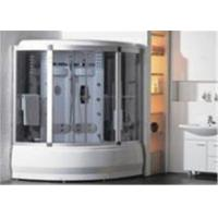 Buy Comfortable Whirlpool Steam Shower Bath Cabin Unit With Computer Control Panel at wholesale prices