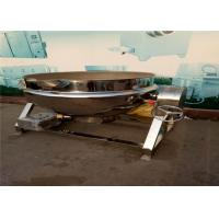 Quality Food Processing AutomaticStirFryMachine For Restaurant High Thermal Efficiency for sale