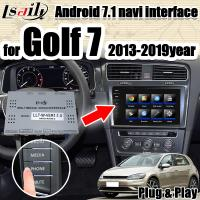 China Android 7.1 multimedia Video Interface integration navigation box  for VW Golf 7 with 32G ROM support apple carpaly on sale