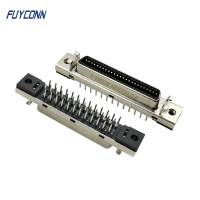 Quality MDR 180 Degree Straight PCB Mount SCSI Female 50P Servo Connector for sale