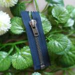 Quality Metal Teeth 5 # Open End Zippers For Handbag , Decorative Zipper Pulls for sale