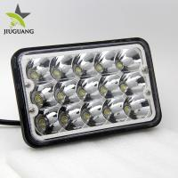 Buy cheap 10 - 30V DC Voltage 4x6 Led Headlight Diecast Aluminum Housing Material from wholesalers
