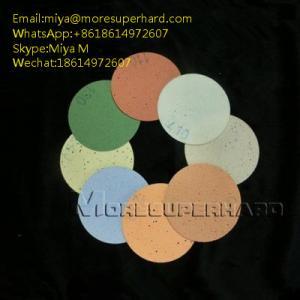 Quality Polyurethane (PU) Polishing Pad for glass LED precision optics miya@moresuperhard.com for sale